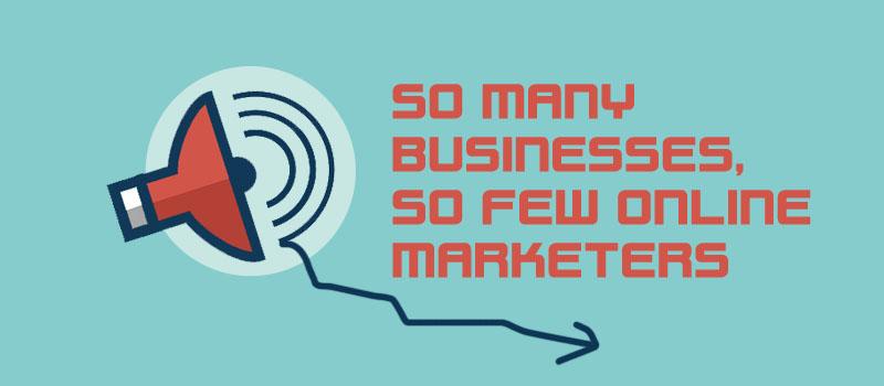 few-online-marketers