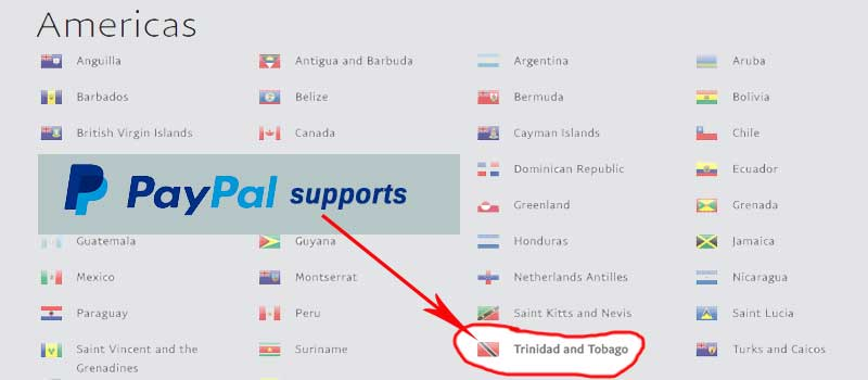 UPDATE: Withdraw Paypal Funds To Your Trinidad & Tobago